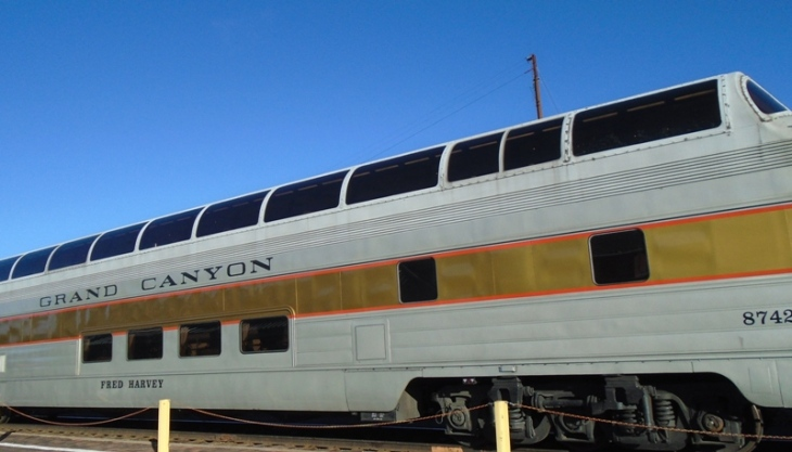 Grand Canyon Railway, Fred Harvey Observation Car