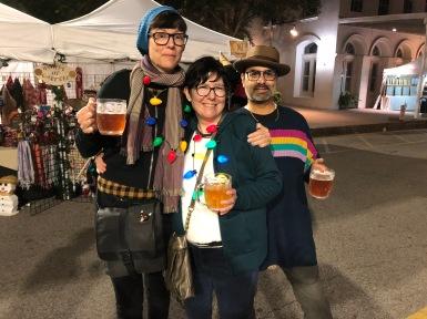Carolyn Watkins, Deloris and Rudy Zepeda